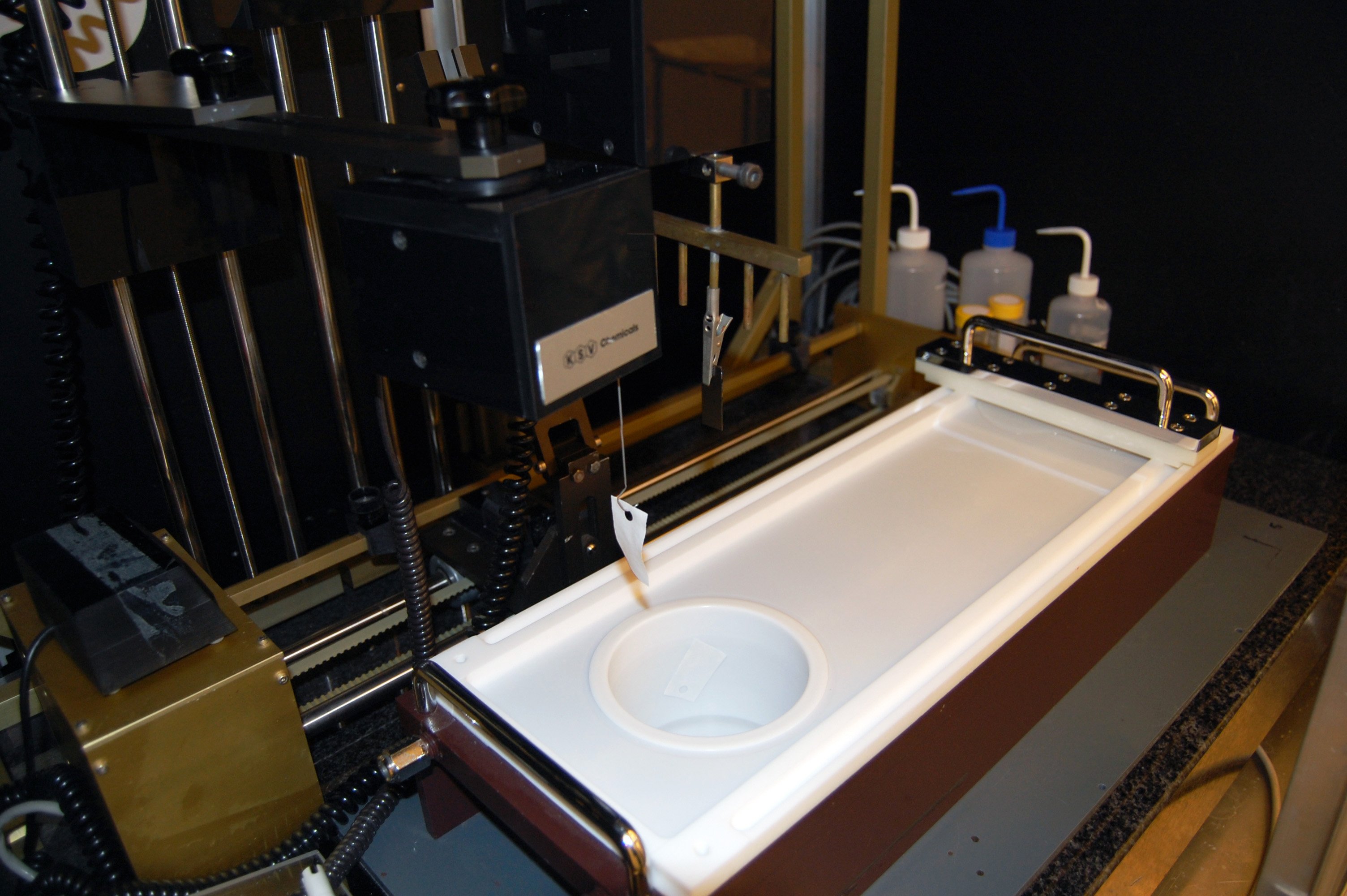 Picture of Langmuir-Blodgett Trough