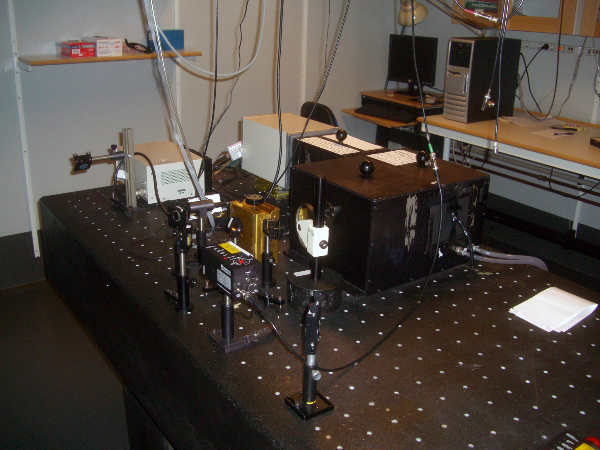 Picture of Time Correlated Single Photon Counting - TCSPC