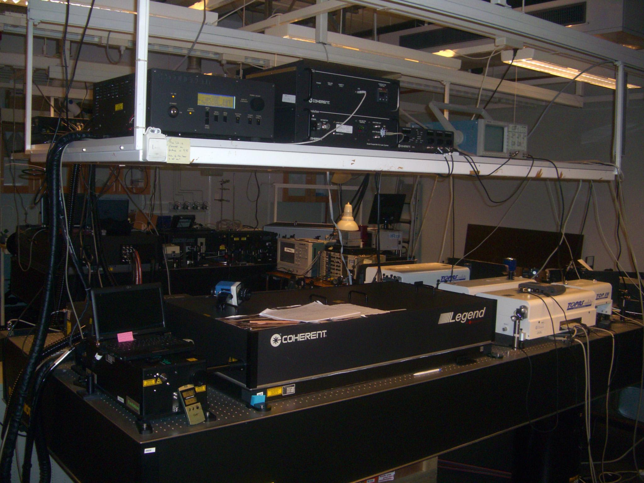 Picture of Femtosecond laser amplifier