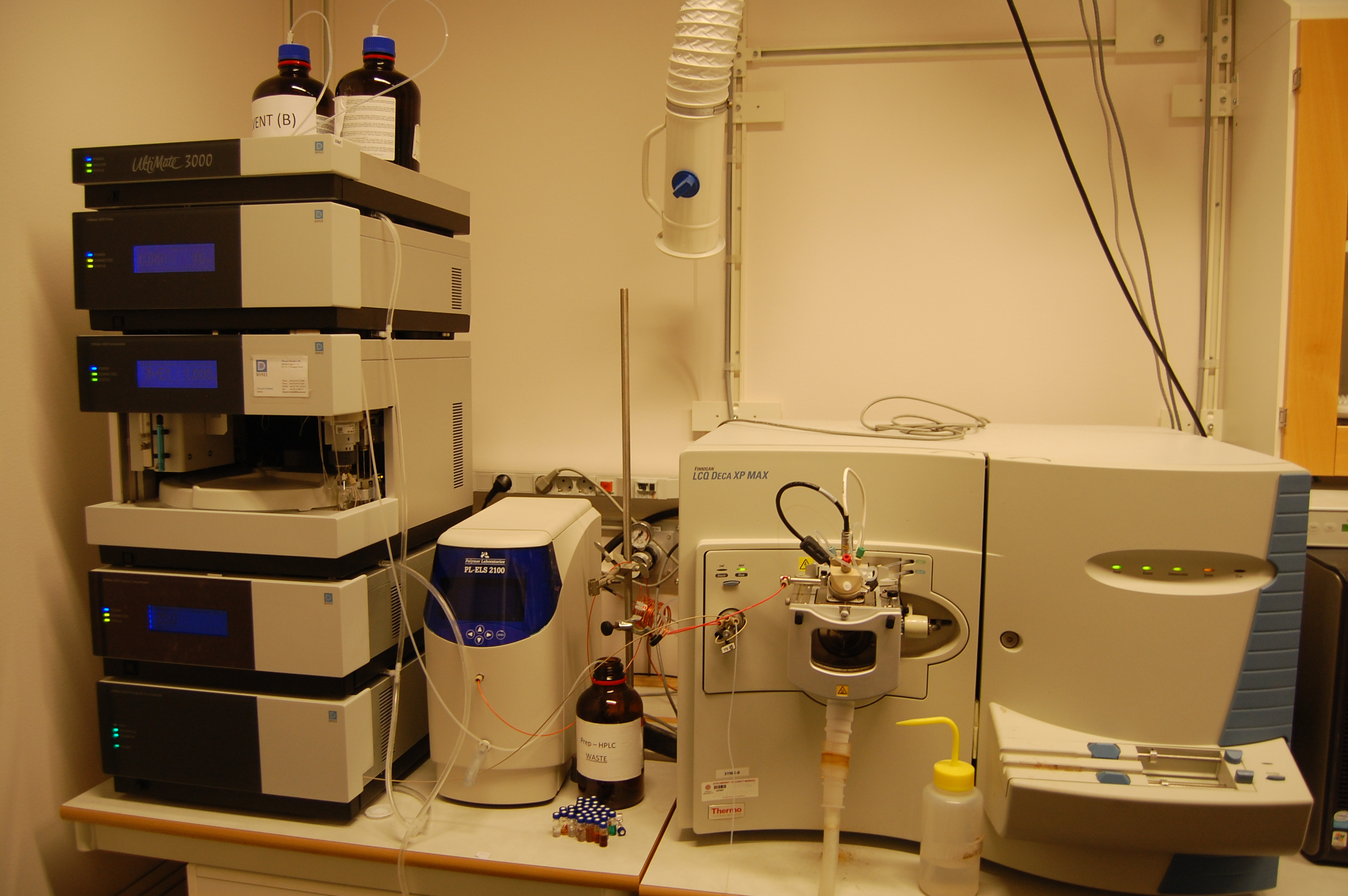 Picture of HPLC-MS