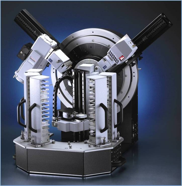 Picture of XRD Bruker TwinTwin Diffractometer