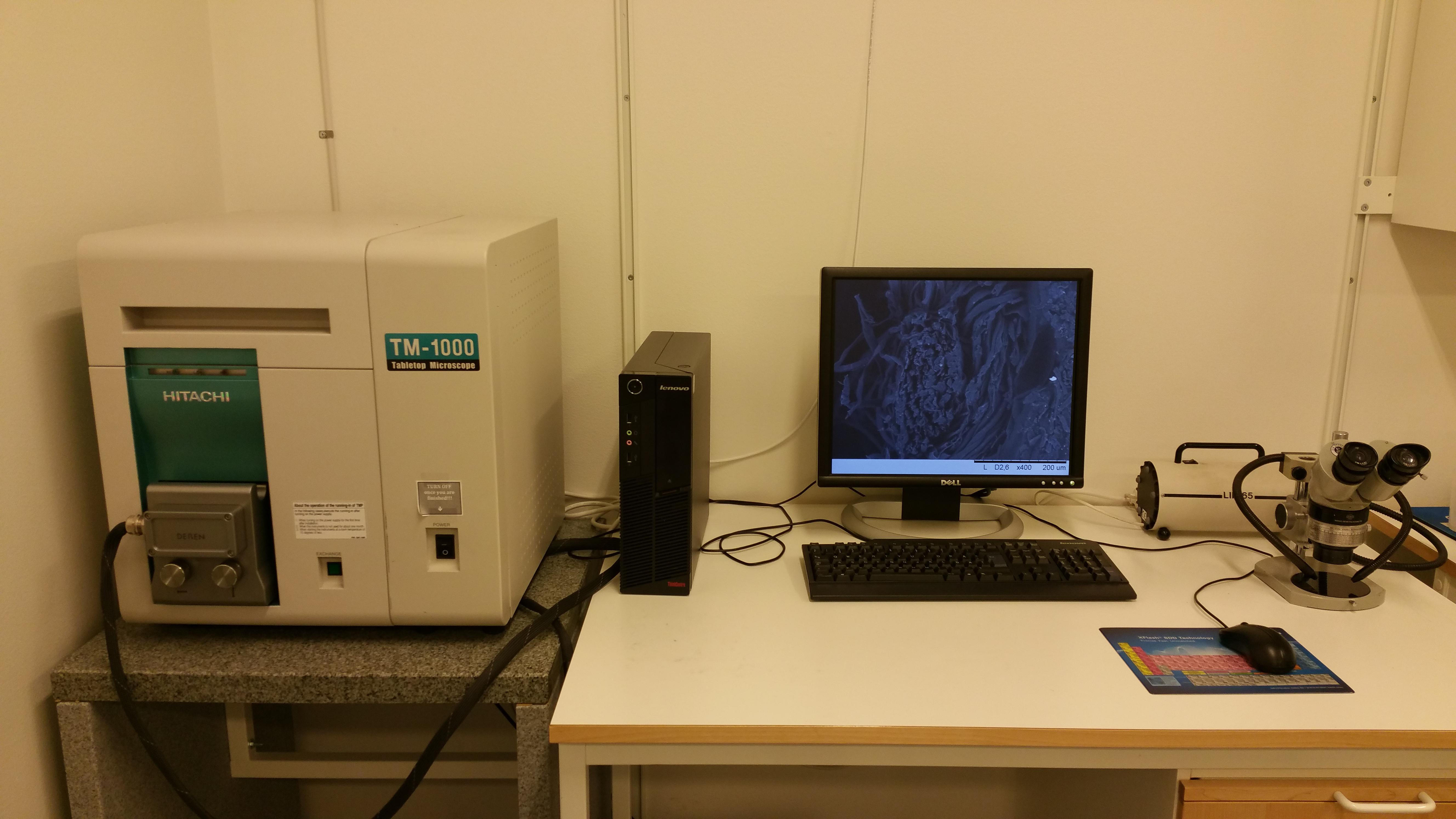Picture of Tabletop SEM Hitachi TM-1000