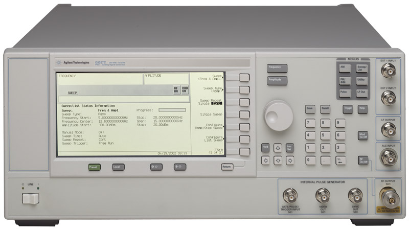 Picture of Signal Generator 20 GHz E8257C
