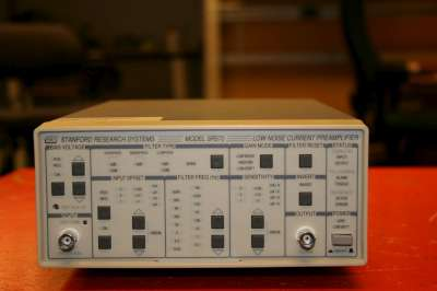 Picture of Low-noise current preamplifier