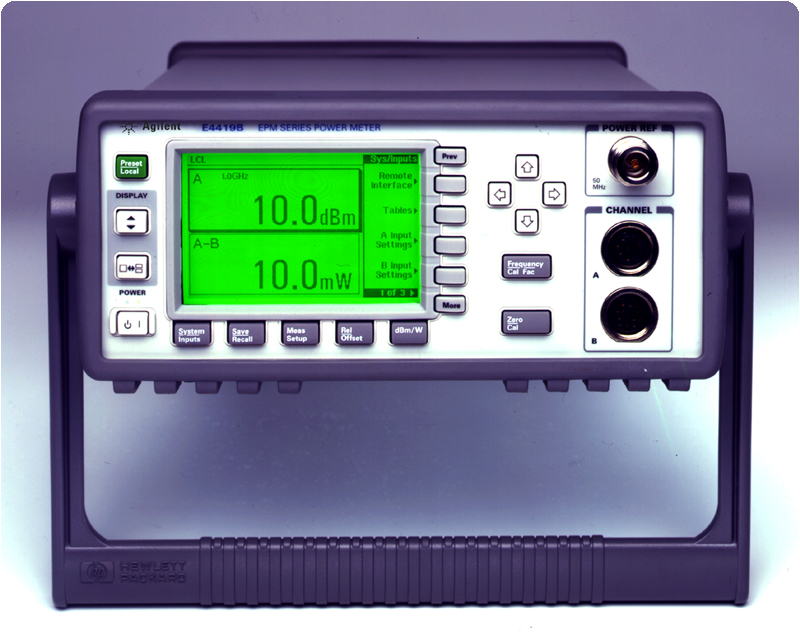 Picture of Power Meter E4419B, Dual Channel