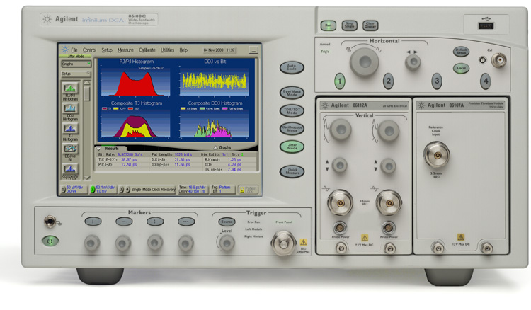 Picture of Oscilloscope 70GHz