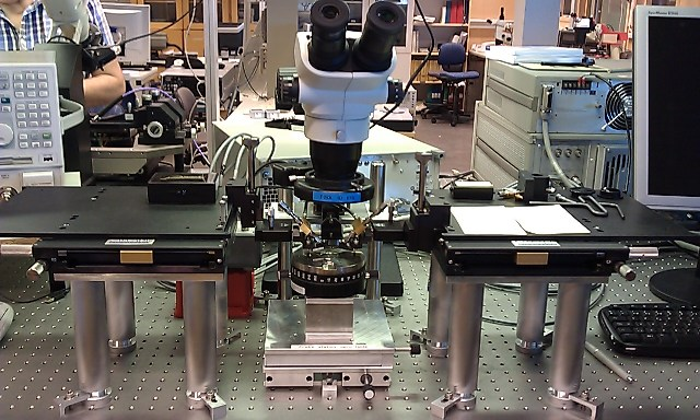 Picture of Probe station Opto-table