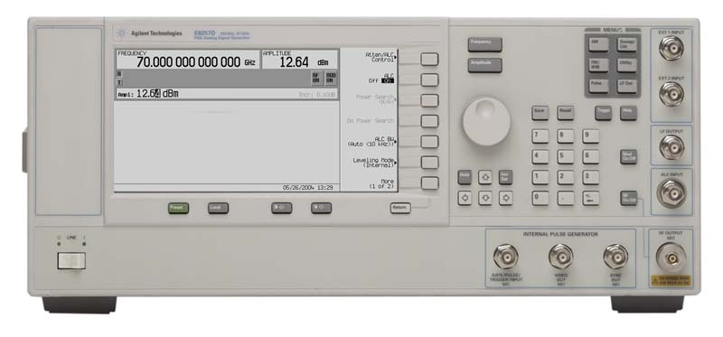 Picture of Signal Generator 67 GHz PSG E8257D