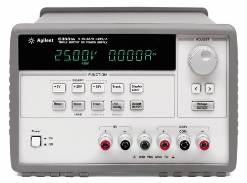 Picture of DC Power Supply , E3631A 80W Triple Output